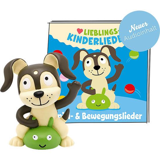 tonies® Hörfigur Hund - 30 Lieblings-Kinderlieder - Spiel- & Bewegungslieder