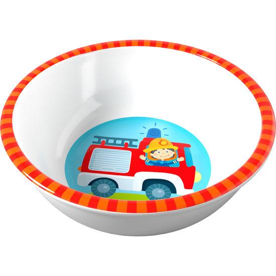 Kinder Melamin Schüssel Feuerwehr HABA 303693