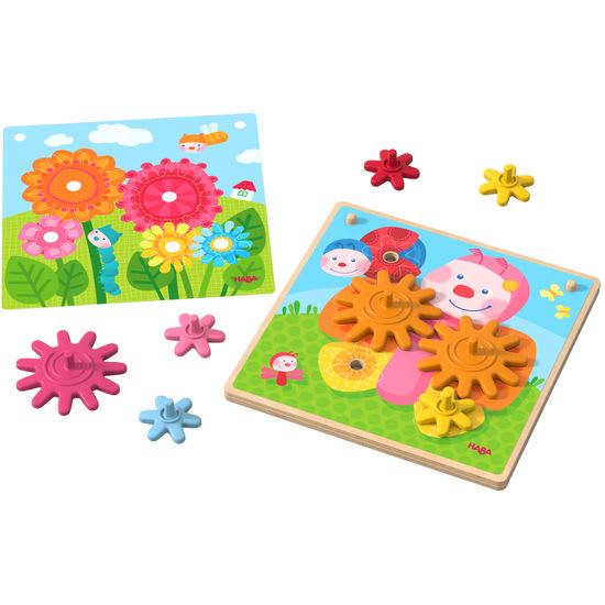 Zahnradspiel Tiere im Garten HABA 303871