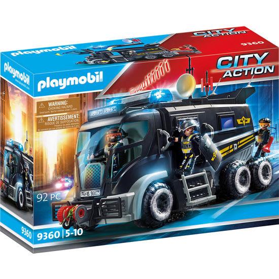 PLAYMOBIL® City Action 9360 SEK-Truck mit Licht und Sound