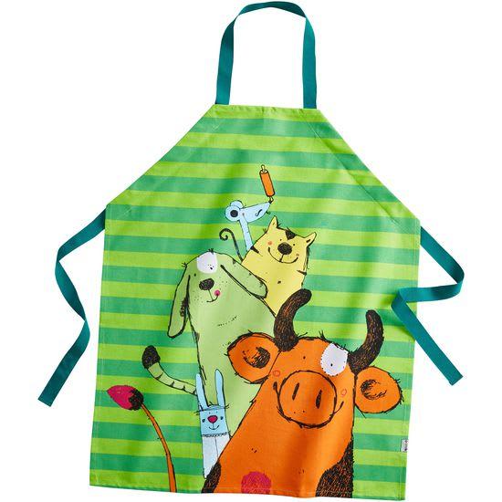 Kinder Kochschürze JAKO-O, grün