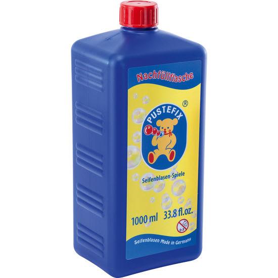 PUSTEFIX® Nachfüllflasche Seifenblasen-Flüssigkeit, 1 l