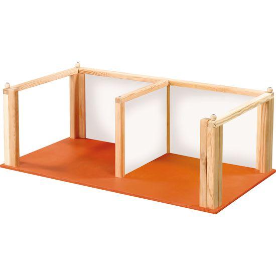 Zwischenetage für Puppenhaus aus Holz JAKO-O, 2 Räume