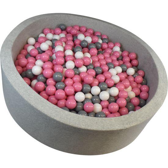 Bällebad inklusiv 300 Bällen, Schaumstoff