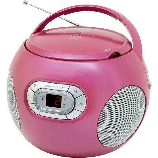 soundmaster® SCD2120 CD Spieler mit Hörbuchfunktion und UKW-Radio