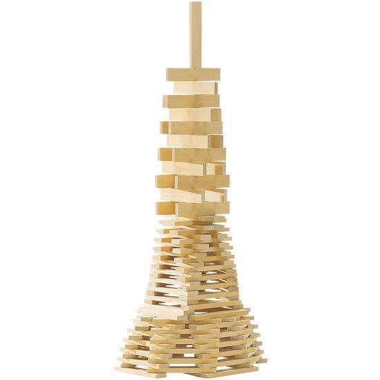 Holzbausteine, 300-teilig