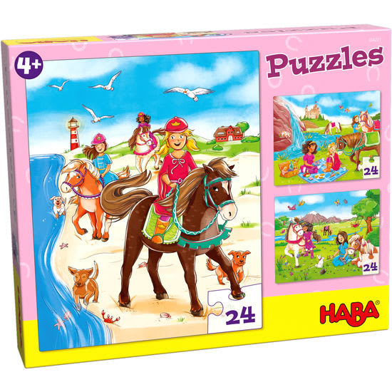 Puzzles Pferdefreundinnen HABA 304221