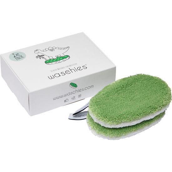 waschies® Baby Mikrofaser-Waschpads, 2 Stück