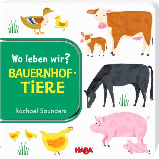 Wo leben wir? Bauernhoftiere HABA 304010