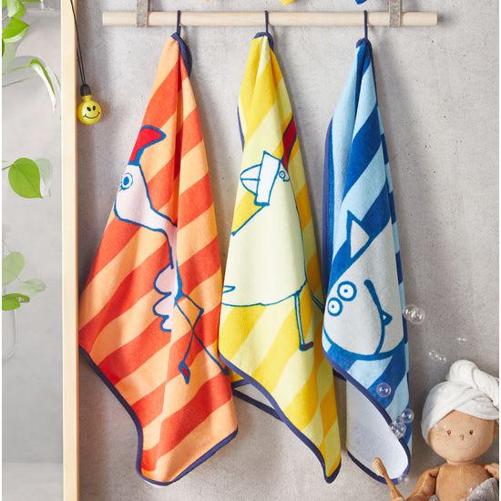 JAKO-O Kinder Handtücher, 3er Pack