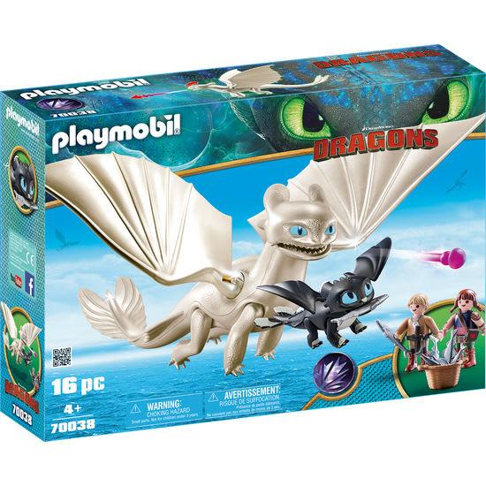 PLAYMOBIL® Dragons 70038 Tagschatten und Babydrachen mit Kindern