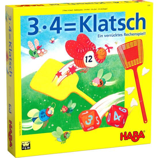 3 x 4 = Klatsch HABA 4538