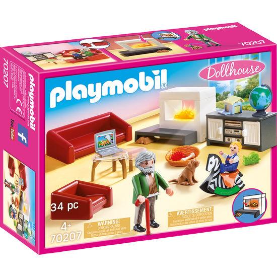 PLAYMOBIL® Dollhouse 70207 Gemütliches Wohnzimmer