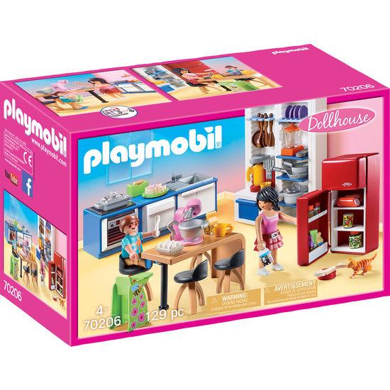 PLAYMOBIL® Dollhouse 70206 Familienküche