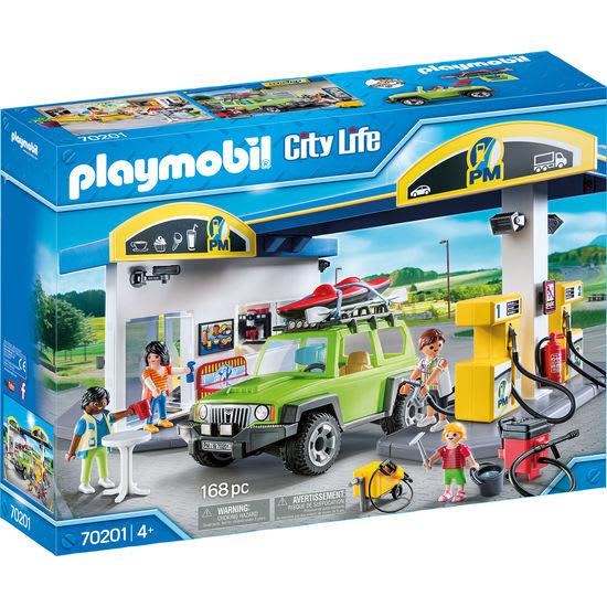 PLAYMOBIL® City Life 70201 Große Tankstelle