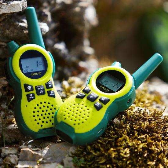 Kinder Walkie-Talkie-Geräteset JAKO-O, 2 Stück