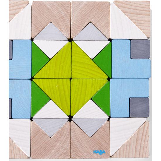 3D-Legespiel Würfelmosaik Nordic HABA 305461