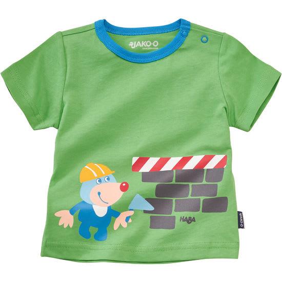Baby T-Shirt HABA-Motive JAKO-O, mit Schulterknöpfen