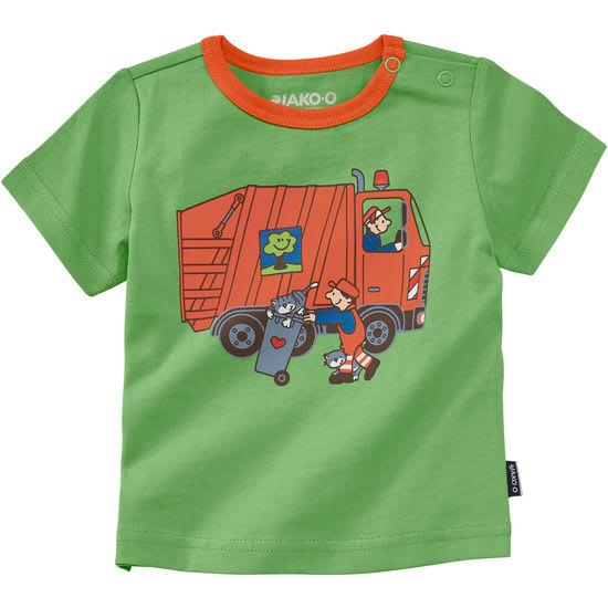 Baby T-Shirt Fahrzeuge JAKO-O, Schulterknöpfe