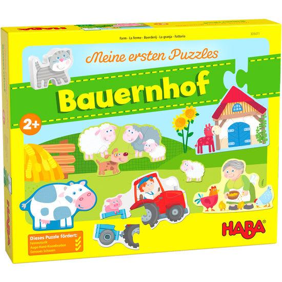 Meine ersten Puzzles – Bauernhof HABA 305471