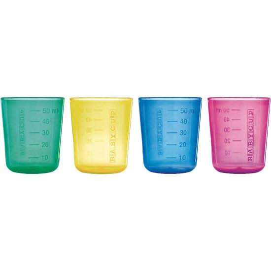 Babycup® First Cups Trinkbecher, 4 Stück