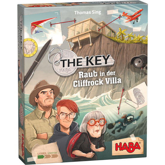 The Key - Raub in der Cliffrock-Villa HABA 305543