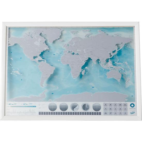 Luckies™ Scratch Map - Rubbelkarte Welt