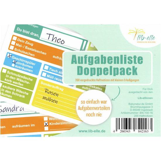 li-belle Aufgabenliste Doppelpack