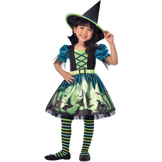 amscan<sup>®</sup> Kinder-Kostüm Hexe, Größe 98-128