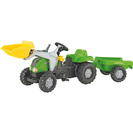 rolly® toys Trettraktor rollyKid-X mit Lader und Hänger