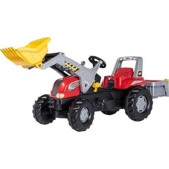 rolly® toys Trettraktor Junior RT mit Lader und rollyBox