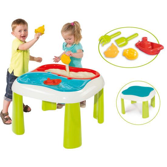 Smoby Kinder Sand- und Wasserspieltisch 2 in 1