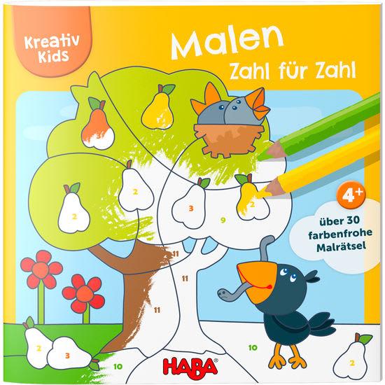 Kreativ Kids - Malen nach Zahlen HABA 305616