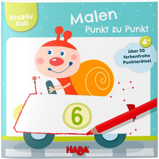 Kreativ Kids - Malen von Punkt zu Punkt HABA 305617