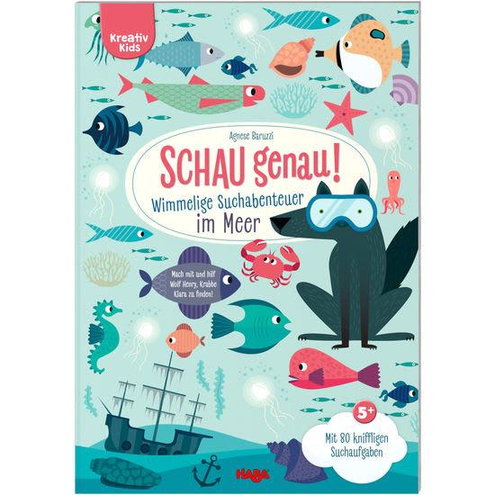 Kreativ Kids – Schau genau! Wimmelige Suchabenteuer im Meer HABA 305185