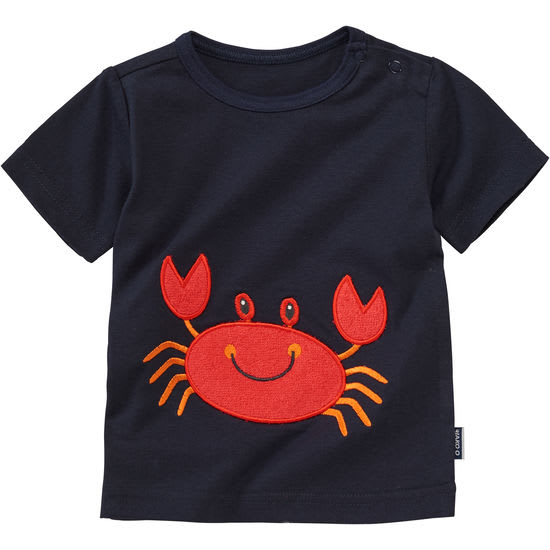 Baby T-Shirt mit Frottee-Applikation JAKO-O