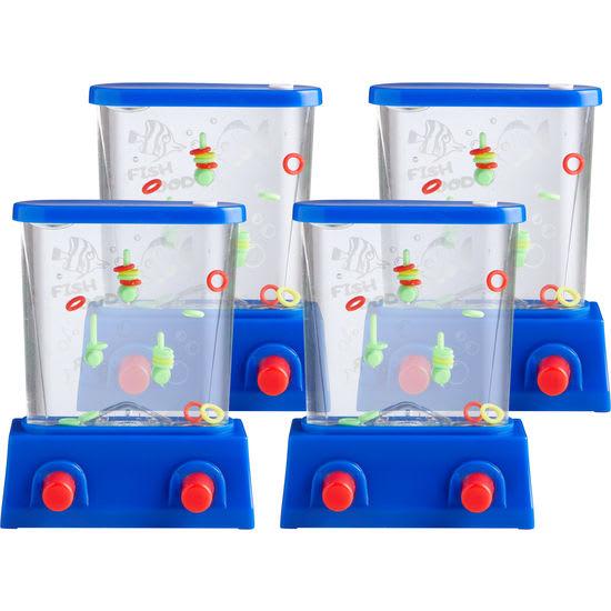Wasserspiel Ringe, 4 Stück