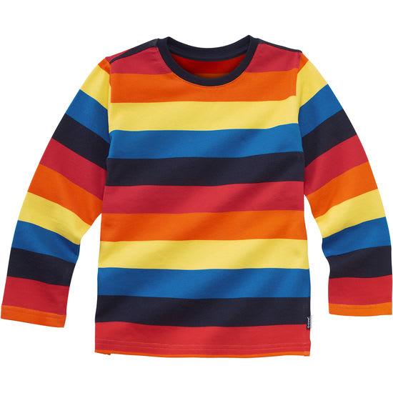 Kinder Langarmshirt Regenbogen-Ringel JAKO-O