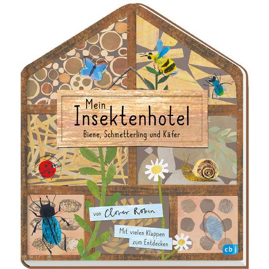Papp-Bilderbuch Mein Insektenhotel, mit Klappen