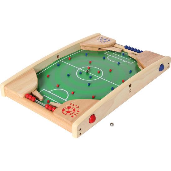 Bartl Kinder Fußball-Flipper Flip Kick Deluxe, aus Holz