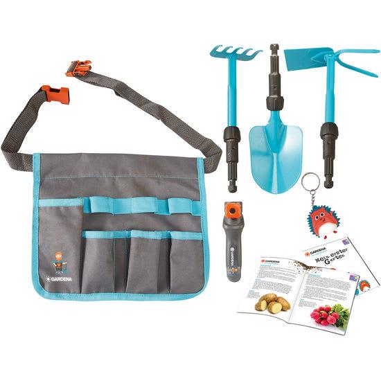 GARDENA® Kinder Gürteltasche mit 3 Werkzeugen