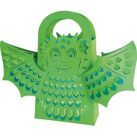 Ursus® Meine erste Laterne Drachen, Bastelset für 1 Leucht-Tasche