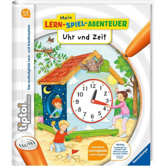 tiptoi®-Kinderbuch Mein Lern-Spiel-Abenteuer Uhr und Zeit