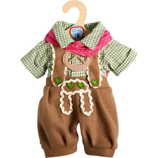 Heless® Puppen-Trachtenhose mit Hemd, 35-45 cm
