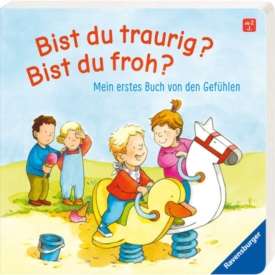 Papp-Bilderbuch Ravensburger Bist du traurig? Bist du froh?
