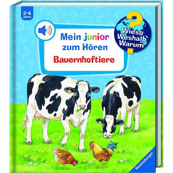 Ravensburger Bilderbuch WWW Mein junior zum Hören: Bauernhoftiere
