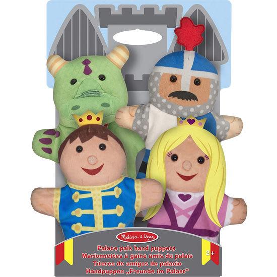 Melissa & Doug® Kinder Handpuppen-Set Märchen, 4-teilig