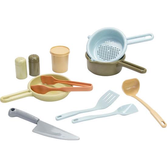 dantoy® Kinder Küchen-Set Biokunststoff, 14-teilig
