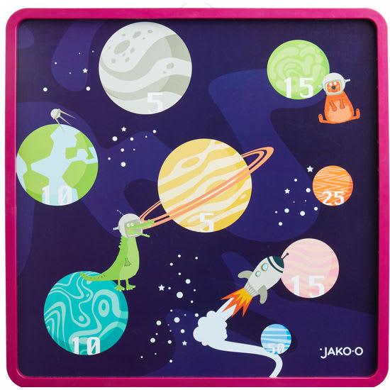 Kinder Magnet-Dartboard JAKO-O, doppelseitig
