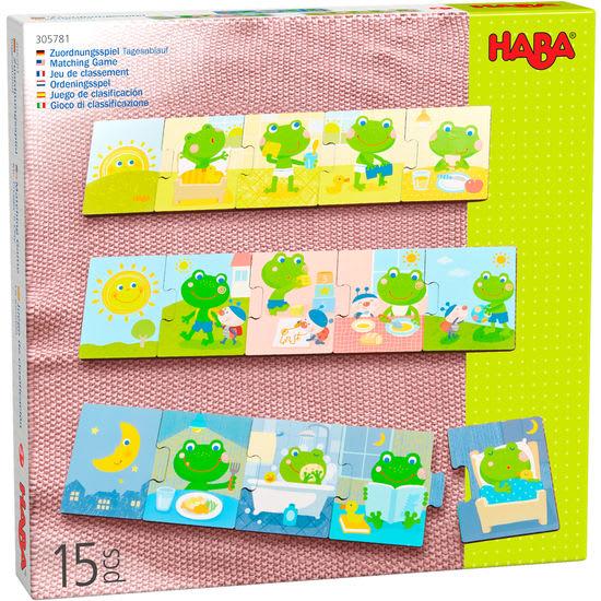 Legespiel Tagesablauf HABA 305781